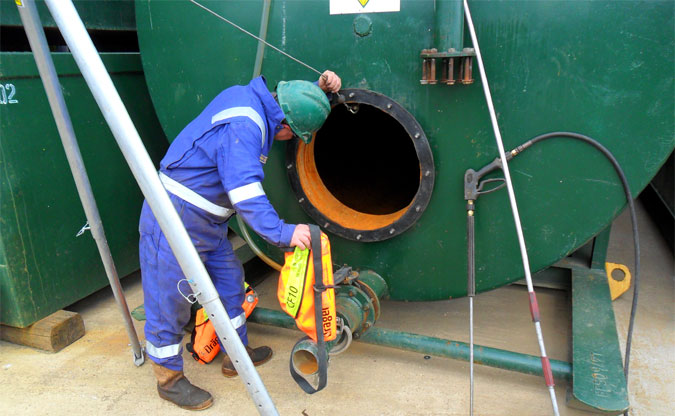 Water Tank Confined Space : Fbg limited tank cleaning
